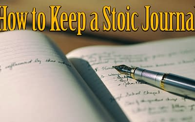 How to Keep a Stoic Journal for Self-Improvement